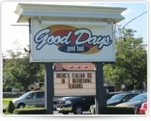 good days restaurant sign